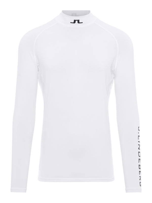 WHITE 'Aello' Soft Compression Base Layer - MEN / SS20