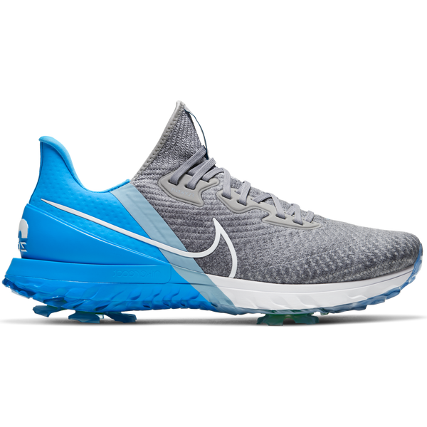 GREY FOG/WHITE-UNIVERSITY BLUE-BLUECAP  'AIR ZOOM INFINITY' Golf Shoe - AW20 / MEN