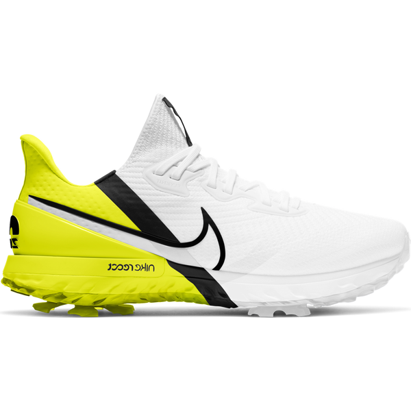 White/Lemon 'AIR ZOOM INFINITY' Golf Shoe - AW20 / MEN