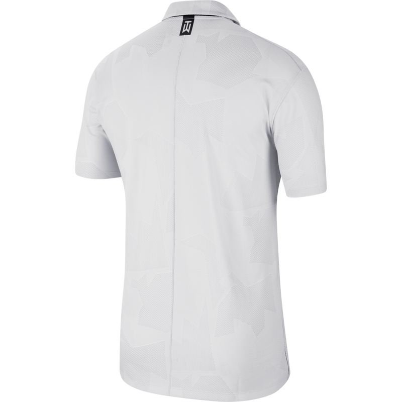 White 'Dri-FIT Tiger Woods' CAMO Golf Polo Shirt - MEN / SS20