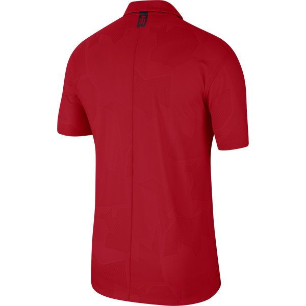 Red 'Dri-FIT Tiger Woods' Golf CAMO Polo Shirt - MEN / SS20