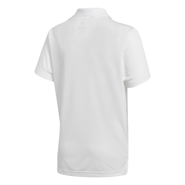 white 'TOURNAMENT' GOLF POLO SHIRT - JUNIOR / SS20