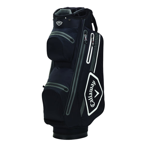 Black 'Chev Dry 14' Cart Golf Bag