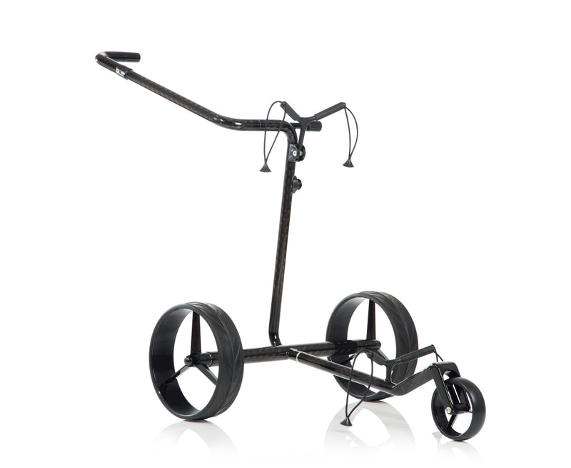 Lightweight 'Drive 2.0' CARBON 3-wheel electric Golf Trolley - CUSTOM / BESPOKE