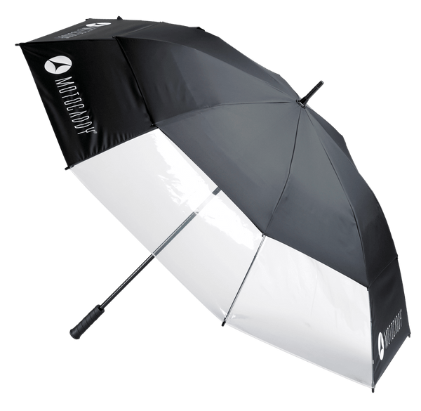 BLACK 'CLEARVIEW' GOLF UMBRELLA - 2021