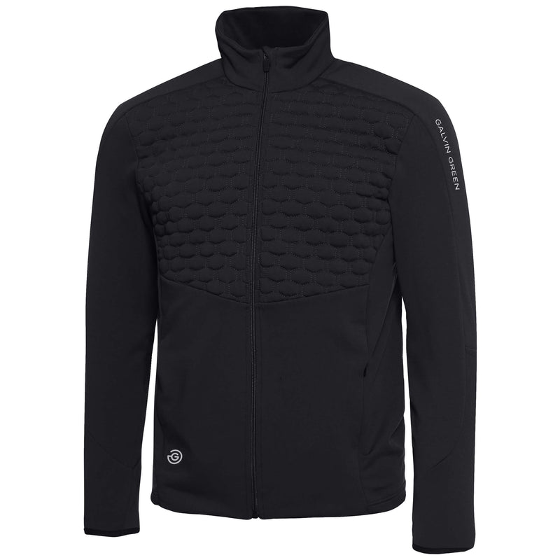 Black Darin INSULA™ full zip jacket - MEN / OUTLET