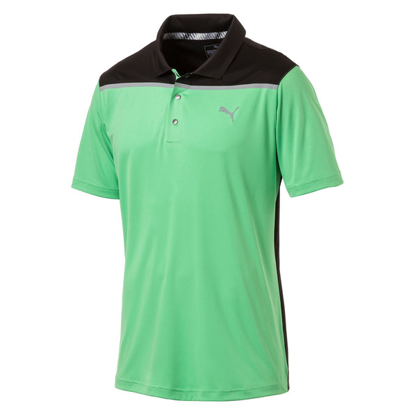 GREEN 'BONDED' GOLF POLO - MEN / OUTLET