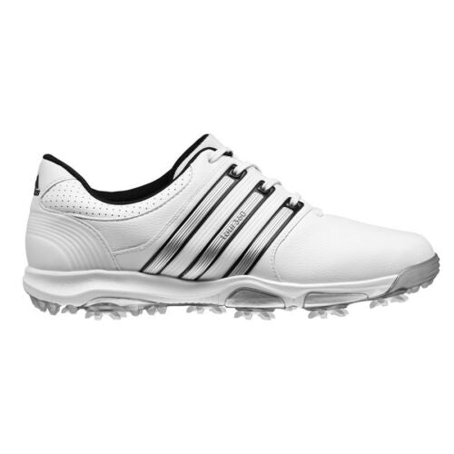 WHITE 'TOUR360 X' GOLF SHOE - MEN / OUTLET