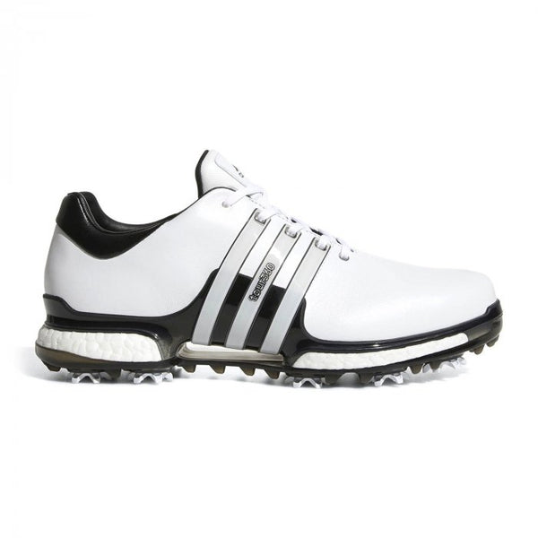 WHITE 'TOUR360 boost 2.0' GOLF SHOE - MEN / OUTLET