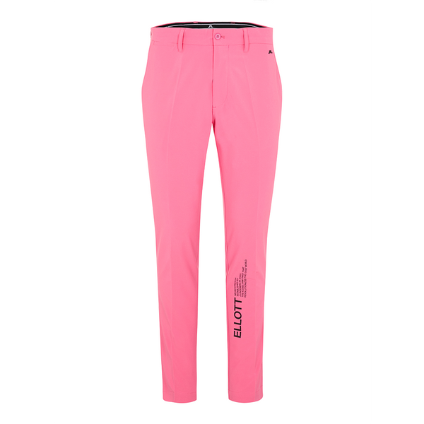 Pop Pink Ellott Archived-Micro Stretch golf trousers - MEN / SS20