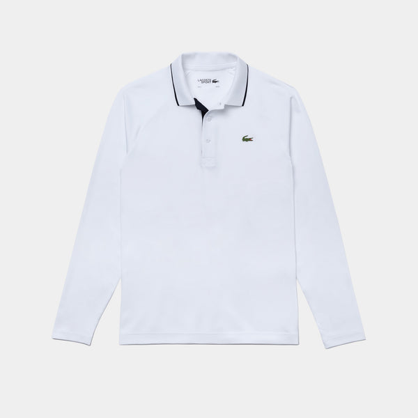 WHITE 'SPORT' Breathable Golf Polo Shirt - MEN / AW20
