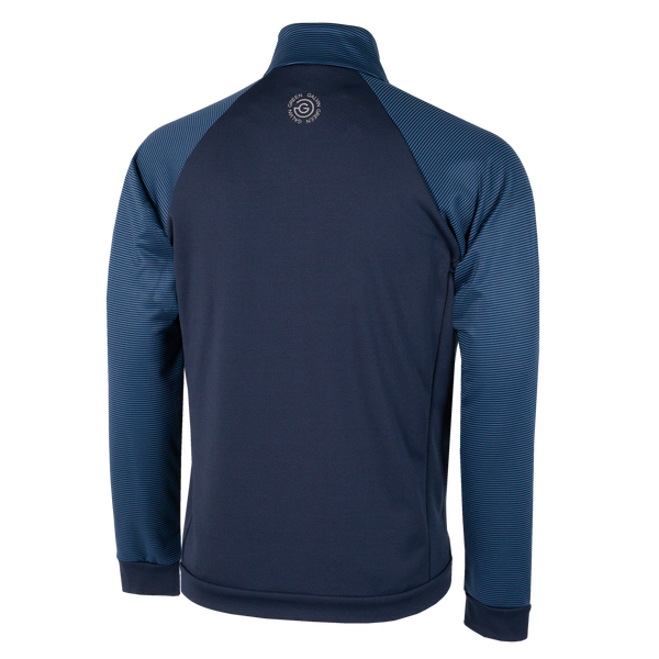 Navy 'DOMINIC' Golf Sweater / Mid-Layer - MEN
