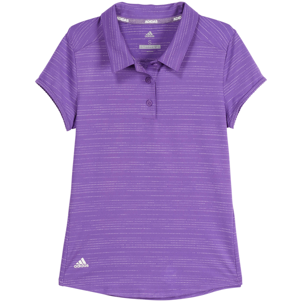 Purple NOVELTY SHORT SLEEVE POLO - YOUTH / AW19