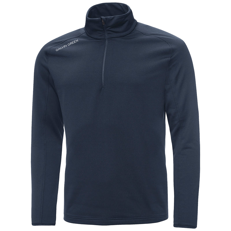 navy 'DRAKE' INSULA golf Pullover - men / ss20