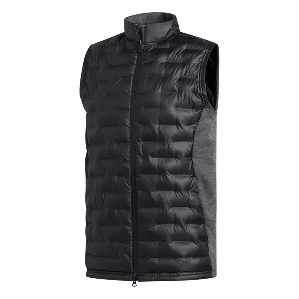 black 'FROSTGUARD' golf VEST - MEN / SS20