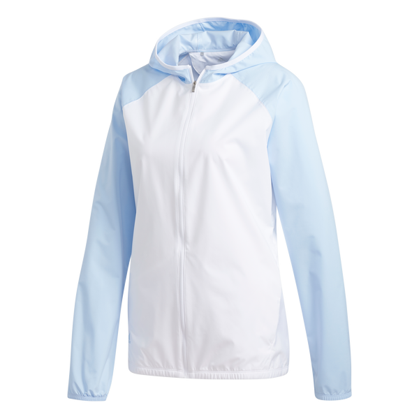 white/glow blue CLIMASTORM JACKET - WOMAN / AW19