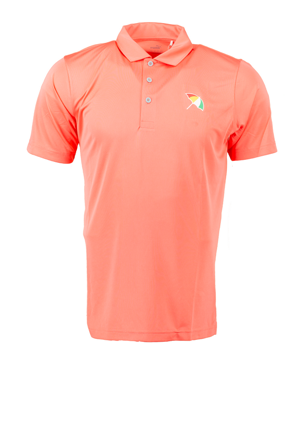 GEORGIA PEAC 'UMBRELLA' Golf Polo Shirt - Arnold Palmer X PUMA / MEN