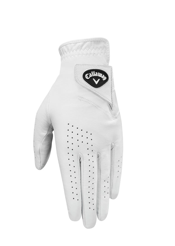 WHITE 'DAWN PATROL' GOLF GLOVE - MEN