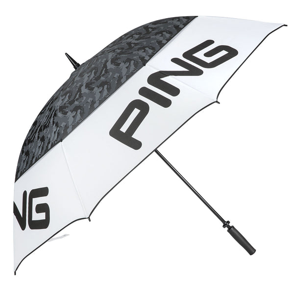 "WHITE 'Tour' Double Canopy 68"" Umbrella - MEN"