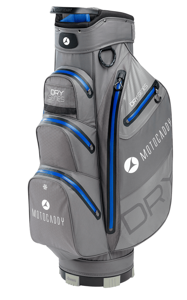 CHARCOAL/BLUE 'DRY SERIES' GOLF CART BAG - 2020