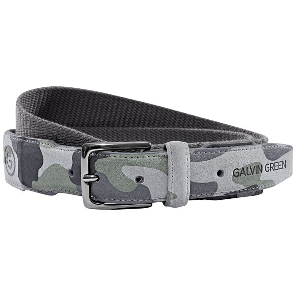 GREY 'E-CAMO' BELT - MEN / OUTLET