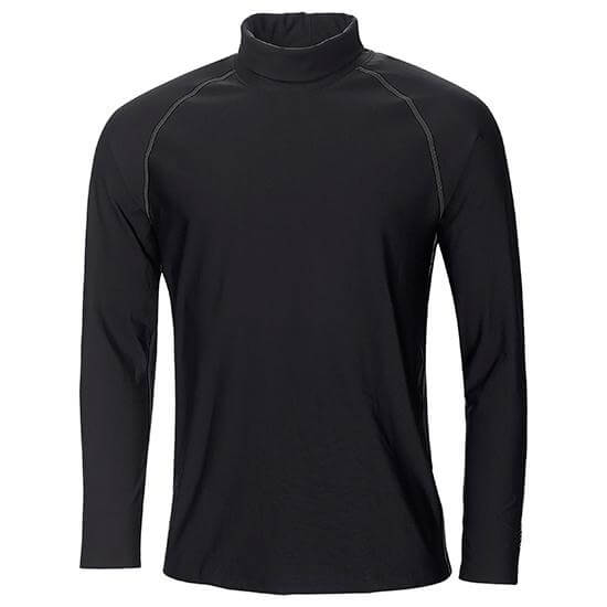black 'EDWIN' GOLF BASE-LAYER - MEN / AW20