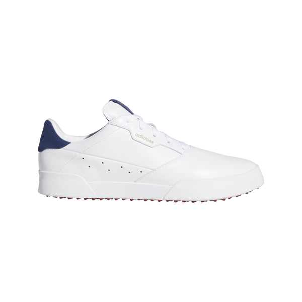 FTWRWHITE / SILVERMET / TECINDIGO 'ADICROSS RETRO' waterproof GOLF SHOE - MEN / SS20