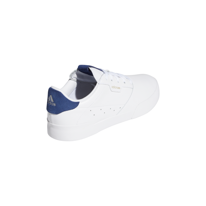 WHITE 'ADICROSS RETRO' GOLF SHOE - WOMEN / SS20