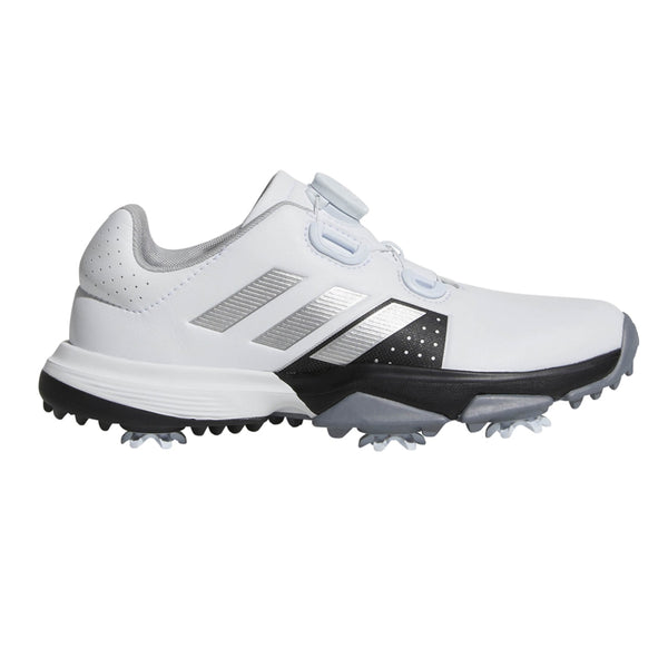 WHITE 'Jr Adipower' Boa GOLF SHOE - JUNIOR / SS20