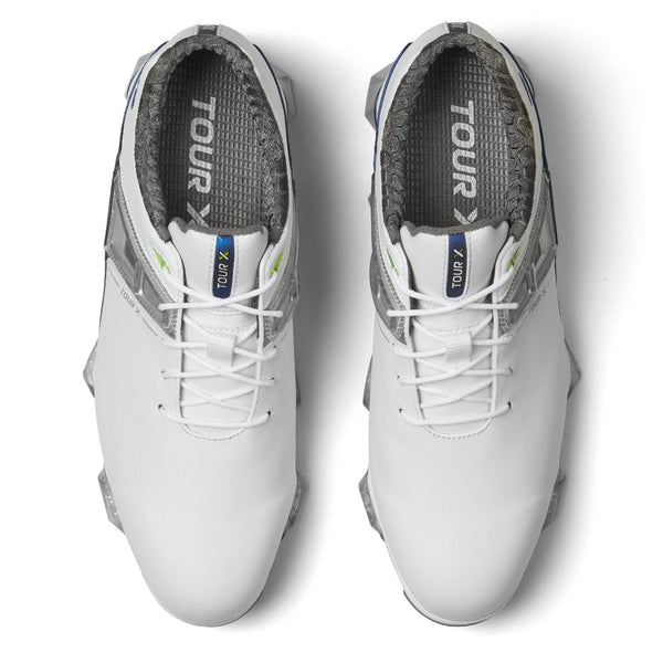 WHITE 'TOUR X' GOLF SHOE - MEN / SS20