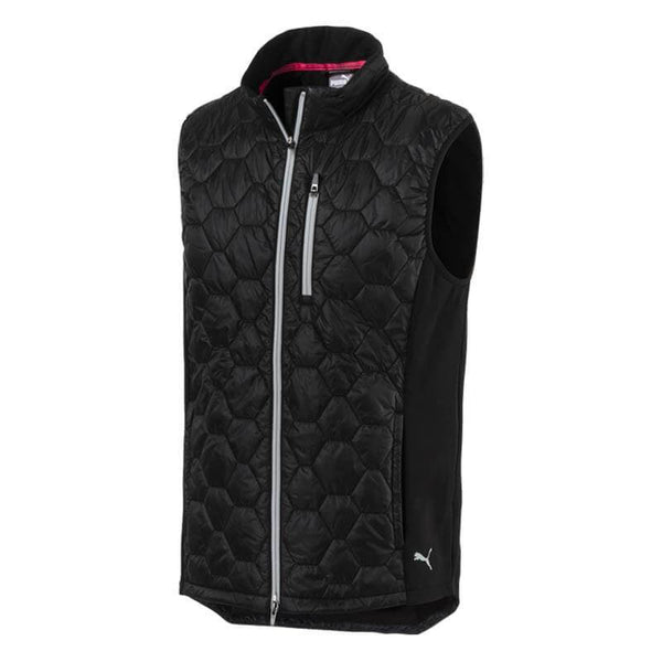 BLACK 'EXTREME' GOLF VEST - MEN / OUTLET