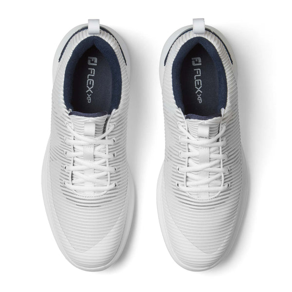 WHITE 'FLEX XP' GOLF SHOE - MEN / SS20
