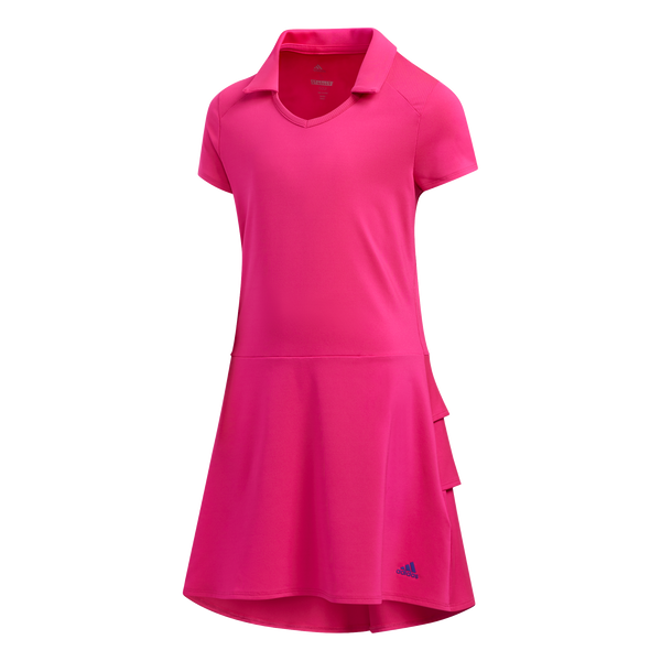 pink 'RUFFLE' GOLF DRESS - JUNIOR / SS20