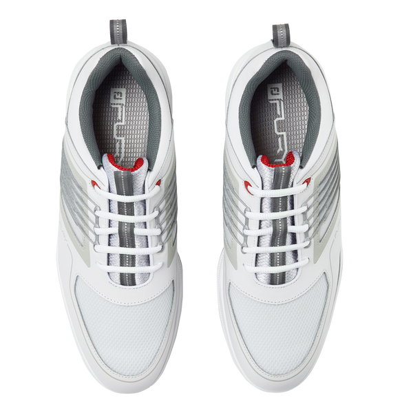 White/Red Fury Golf Shoe - Men / SS19