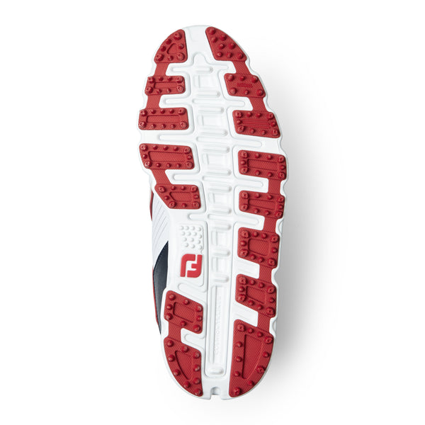 White 'PRO SL' GOLF SHOE - JUNIOR / 2020