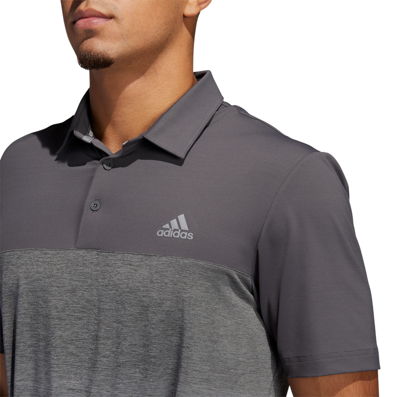 Grey 'Ultimate' Golf Polo Shirt - MEN / SS20