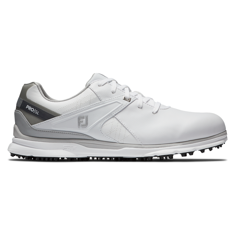 WHITE 'PRO | SL' GOLF SHOE - MEN