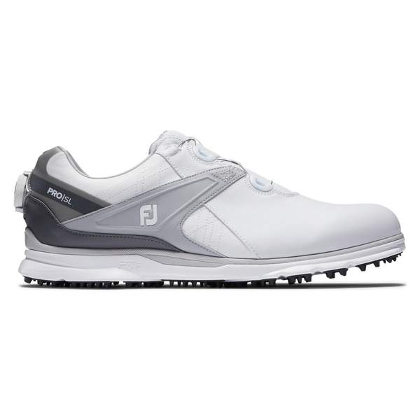 White 'Pro SL' Golf Shoe with BOA - MEN / SS20