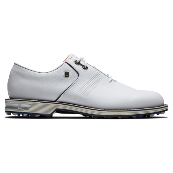 White/Flint 'PREMIERE SERIES' SPIKELESS GOLF SHOE - MEN