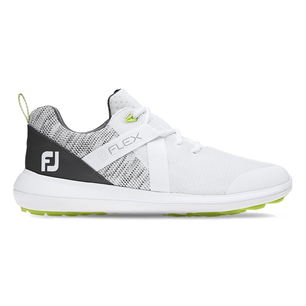 White 'FLEX' Golf Shoe - MEN / SS20