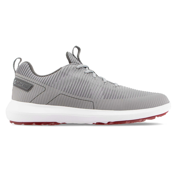 GREY 'FLEX XP' GOLF SHOE - MEN / SS20