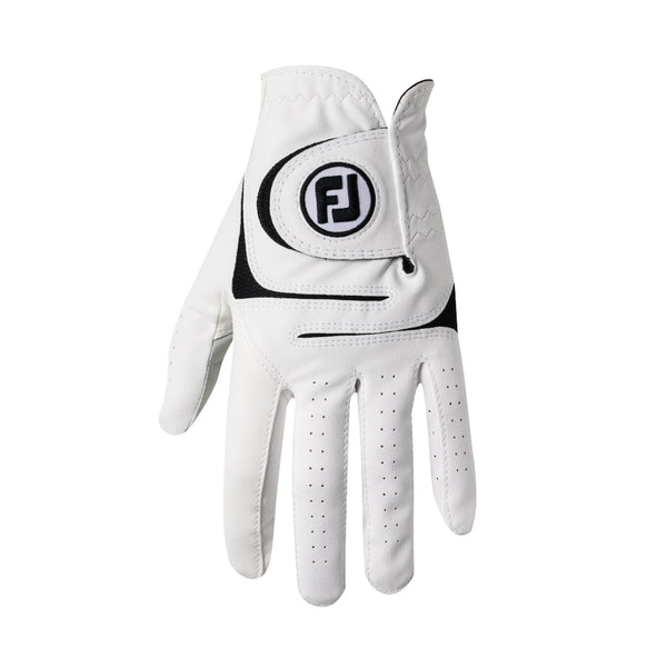 White 'WEATHERSOF' Golf Glove  - MEN