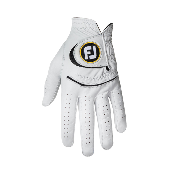 White 'STASOF' Golf Glove  - MEN