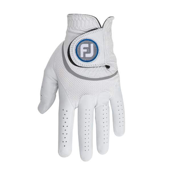 White 'HyperFLX' Golf Glove  - MEN