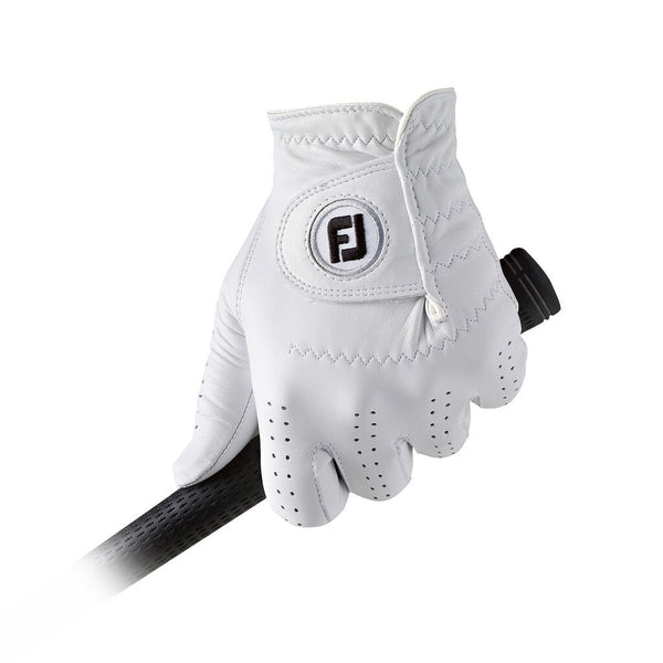 White 'CABRETTASOF ' Golf Glove  - MEN
