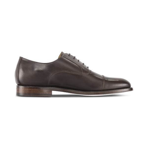 WALNUT Straight Tip Dress 'Dress' Luxury Golf Shoe - Men / Bespoke 1857 Collection