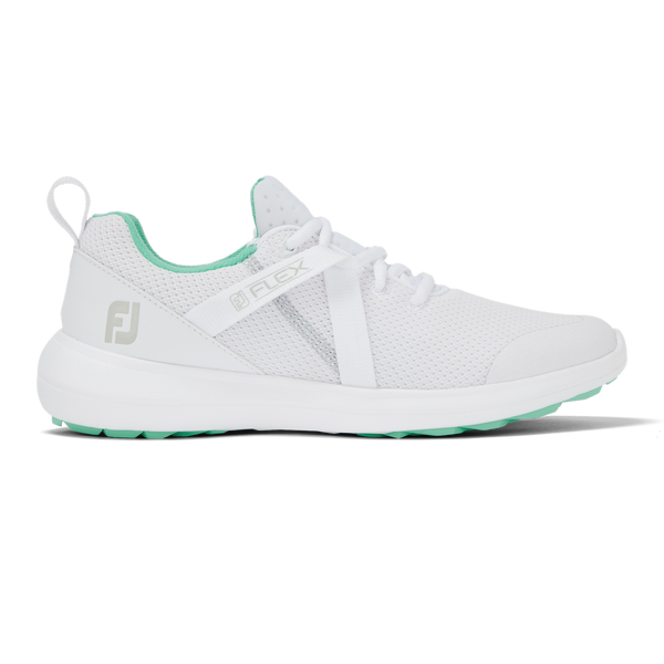 WHITE 'FLEX' GOLF SHOE - WOMEN / SS20