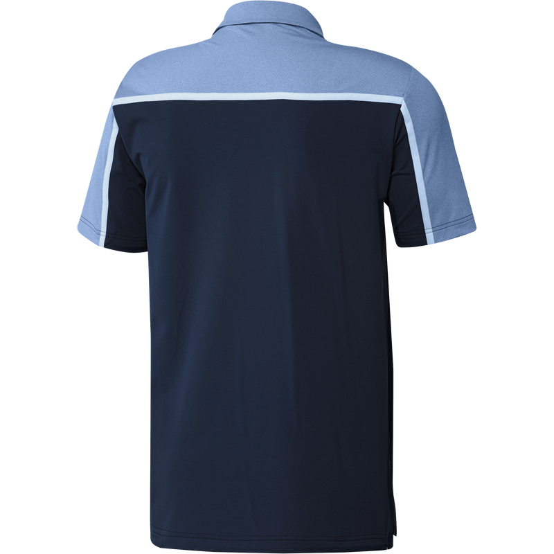 Navy 'Ultimate' 3 Stripe Golf Polo Shirt - MEN / SS20