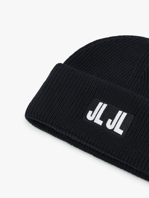 Black 'Jive' JLJL LOGO Beanie - MEN / 2021