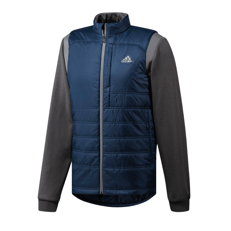 BLUE/GREY CLIMAHEAT FROSTGUARD PRIMALOFT JACKET CY7455 - Men's / AW18